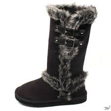 s boots with fur fur boots ebay