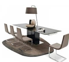 calligaris park glass extending table design icons