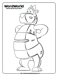 word es playhouse disney characters coloring pages walt