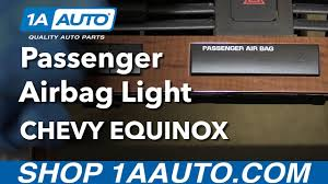 2009 impala airbag light how to install replace passenger airbag indicator light 2008 chevy