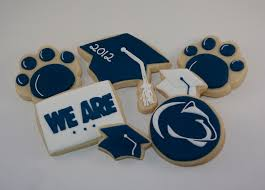 graduation cookies s cookies penn state graduation