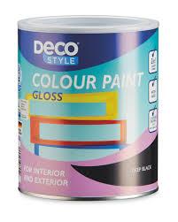 deco style gloss colour paint 1l aldi uk
