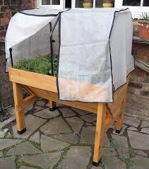 Winter Patio Furniture Covers - compact vegtrug covers buy from gardener u0027s supply