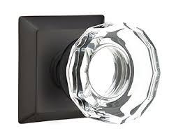 Emtek Glass Cabinet Knobs Lowell Crystal Knob