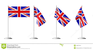 small table flag of great britain stock illustration image 43607944