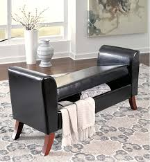 Upholstered Storage Bench B010109 In By Ashley Furniture In Orange Ca Upholstered Storage