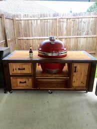 kamado joe grill table plans one of the best kamado joe table plans myhomeimprovement