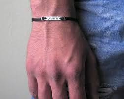 faith bracelets mens faith bracelet etsy