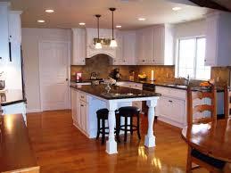 Antique Pine Laminate Flooring Kitchen Itchen Island Tractor Bar Stools Modern Hanging Pendant