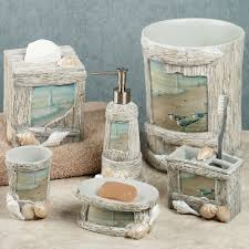 beach themed bathroom accessories interior design ideas