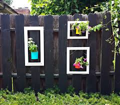 20 unusual ways make your garden fence as eye catching as possible
