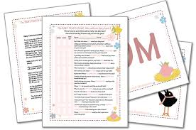 baby traits game baby shower games printable party games