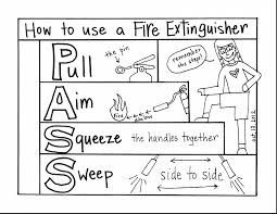 fire prevention coloring pages best of safety itgod me