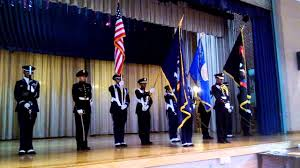 Color Guard Presentation Of The Flags Aviation High Freshman Orientation 2013 Presentation Of