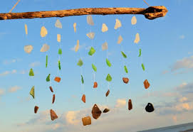 housewarming gift for someone who has everything sea glass wind chime gift idea for couples housewarming beach
