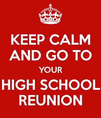 high school reunion banner l m merrington school reunion stories