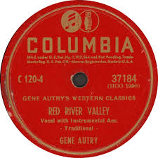 78 rpm gene autry home on the range river valley