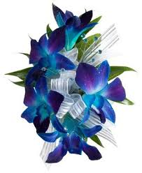 blue orchid corsage flowers by your local florist in duncanville tx