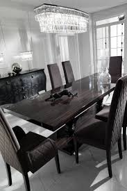 ebony table and chairs large ebony dining table set upholstered dining chairs italian