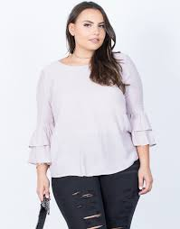 lilac blouse plus size katelyn ruffled blouse 2020ave