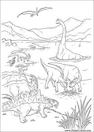 dinosaur painting coloring