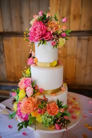wedding cake flower wedding cakes bright sugar flower wedding cake 2040215 weddbook