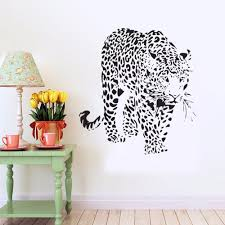 online get cheap wall sticker tiger big aliexpress com alibaba big tiger animal for children kids room living room bedroom house furniture wall stickers home decor