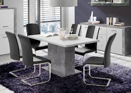 Esszimmertisch Ausziebar Esstisch Esszimmertisch Küchentisch Säulentisch 160 200x90cm