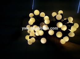 warm white christmas tree lights 6m 50led round bulb string light warm white christmas light green