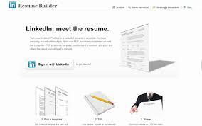 Resume Template Linkedin Resume Builder Linkedin Resume Templates