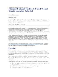 tutorial instal visual basic 6 0 di windows 7 creare visual foxpro installer windows registry microsoft visual