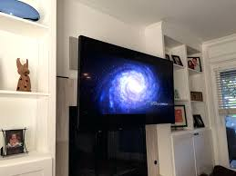 installing led tv above fireplace samsung screensaver premier pull