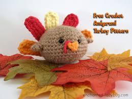 crochet amigurumi turkey pattern