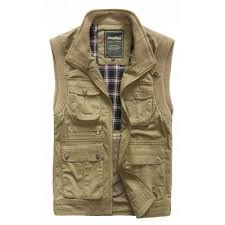 jeep rich jacket khaki jeep rich outdoor vest m 73 24 online shopping gearbest com