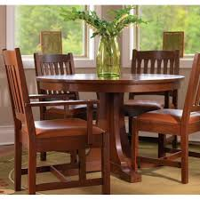 stickley dining room pedestal dining table