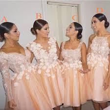 bridesmaid dresses for summer wedding aliexpress buy coral bridesmaid dresses summer wedding
