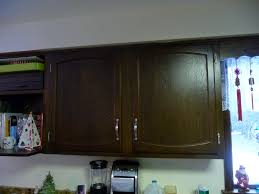 Refinishing Oak Cabinets Ideas For Refinishing Oak Kitchen Cabinets With Espresso Color And