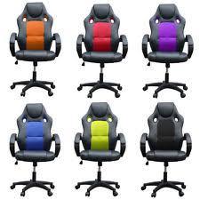 Armchair Racing Computer Gaming Chair Ebay