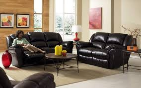 Leather Sofa In Living Room Living Room Black Leather Sofa Set Design For Small Living Room