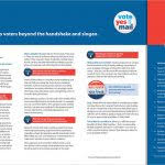 political brochure template election brochure template design