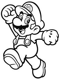 nintendo launches coloring pages with characters mario startlr