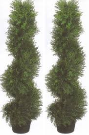 faux cedar trees spiral cedar trees silk tree warehouse company