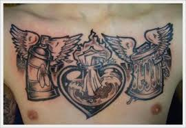 30 highly responsive chest tattoo designs