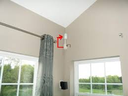 Curtain Motion Detector Homes Our Waverly Family Room Motion Sensor And High