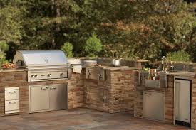 prefabricated outdoor kitchen islands charcoal prefabricated outdoor kitchen islands in u shaped from