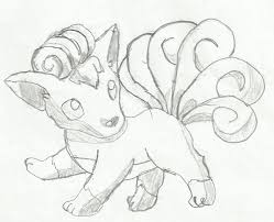 pokemon drawing of vulpix by thecupcaketurtle on deviantart