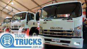 isuzu at the melbourne truck show video