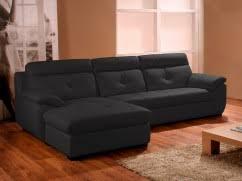 canapé d angle cuir et tissu canapés d angle design