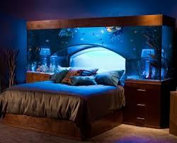 chambre aquarium la décoration avec un meuble aquarium archzine fr