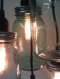 mason jar cluster pendant light portman workshop